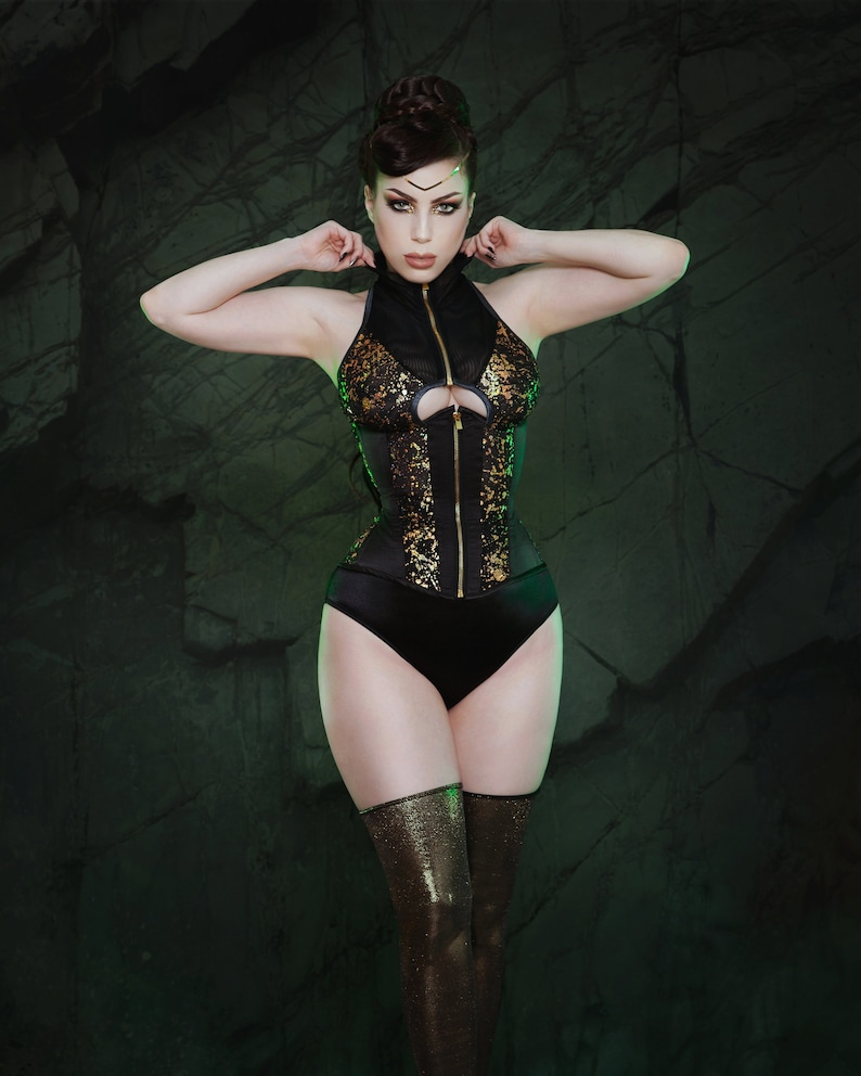 ULTIMATE END high neck corset image 0