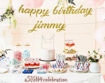 happy birthday sign etsy