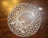 Hand-Crocheted Light Blon...