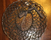 Hand-Crocheted Medium Gre...
