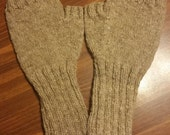 Adult Knitted Light Brown...