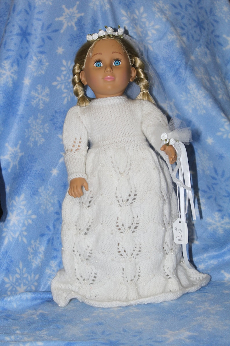 Wedding Dress for 18 doll image 0