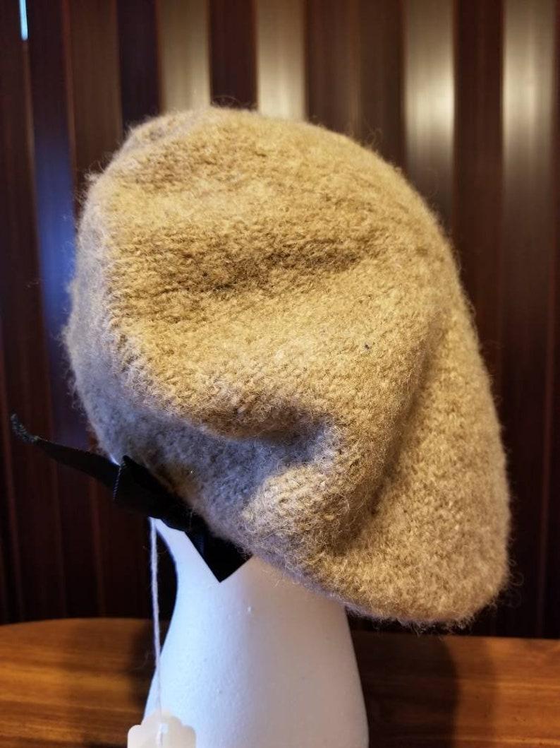 5f887540664 Shetland Wool Scottish Bonnet Irish Tam French Beret