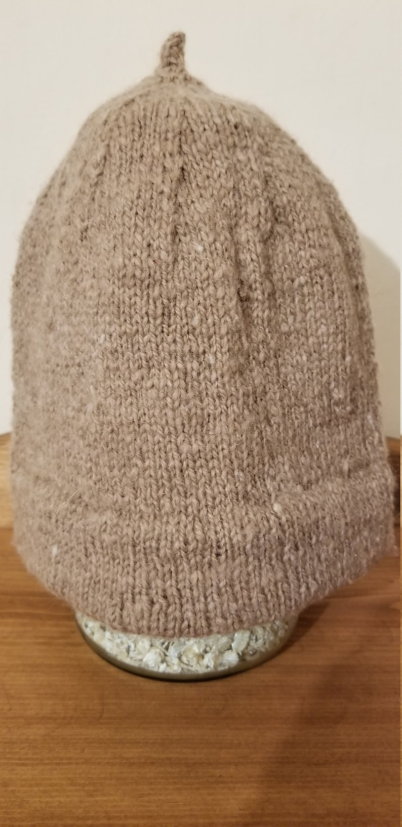 Monmouth Men's Wool Hat light brown image 0