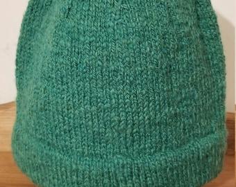 Monmouth Men's Wool Hat, kelly green