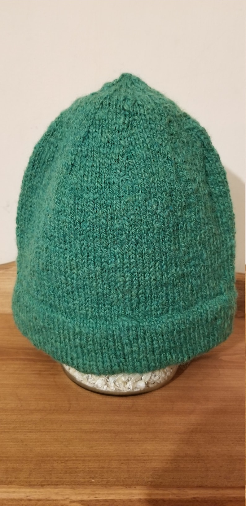 Monmouth Men's Wool Hat kelly green image 0