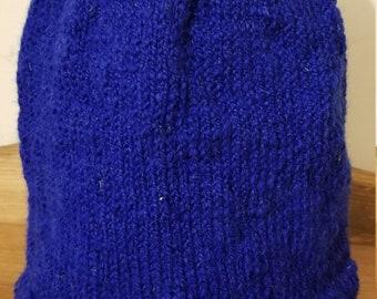 Monmouth Men's Wool Hat, royal blue