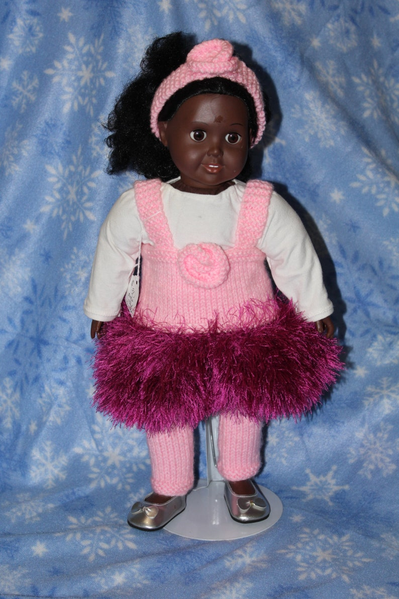 Pink Ballerina Costume for 18 doll image 0