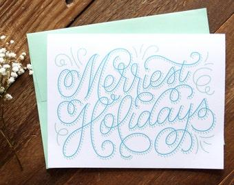 Merriest Holidays Greeting Card