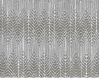 Smoke and Rust 5134 24 Stone Ash by Lella Boutique for Moda Fabrics PreSale by the half-yard