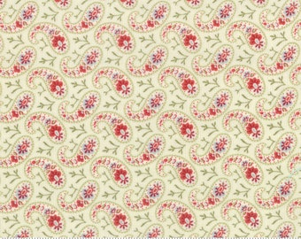 Moda Fabrics - Snowfall by Minick & Simpson Snow White 14834-11 - Quilt, Quilting, Clothing, Crafts, Christmas, Holiday