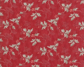 PreSale - Holly Woods Berry 44172 17 by 3 Sisters for Moda Fabrics - Quilt, Christmas