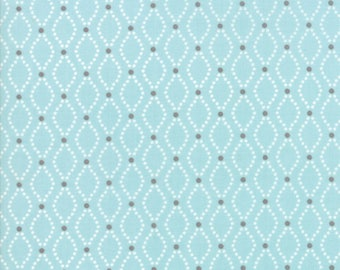 Nest Robins Egg 5063 15 by Lella Boutique for Moda Fabrics - Quilt, Quilting, Crafts