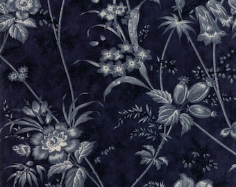 PreSale - Holly Woods Midnight 44170 16 by 3 Sisters for Moda Fabrics - Quilt, Christmas