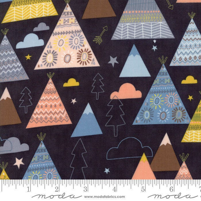 Wild and Free Sky 35311 15 by Abi Hall for Moda Fabrics by the half-yard