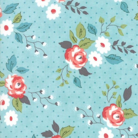 Nest Pond 5065 16 by Lella Boutique for Moda Fabrics Crafts Quilting Quilt