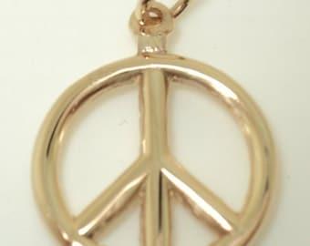 3-D Peace Sign Charm (JC-610)