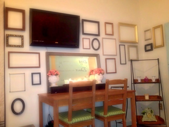 Wall Of Frame Picture Frames For Wall Decor Etsy