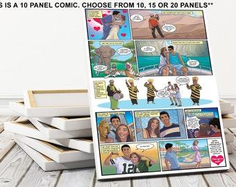 Custom I Love You Gift For Boyfriend Geek Happy Birthday Comic Nerd 40th Present Ideas Husband Surprise Him