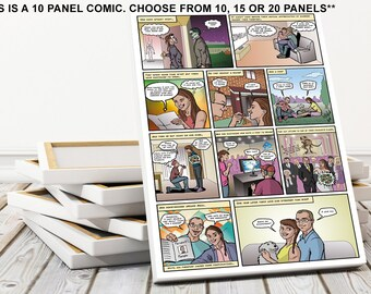 Personalized Gifts For The Man Who Has Everything And Wants Nothing Geeky Nerd Custom Comic Strip Funny Romantic Anniversary Gift Husband
