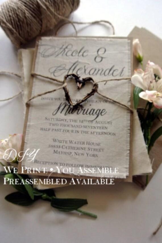 image 0 DIY Rustic Fall Wedding DIY