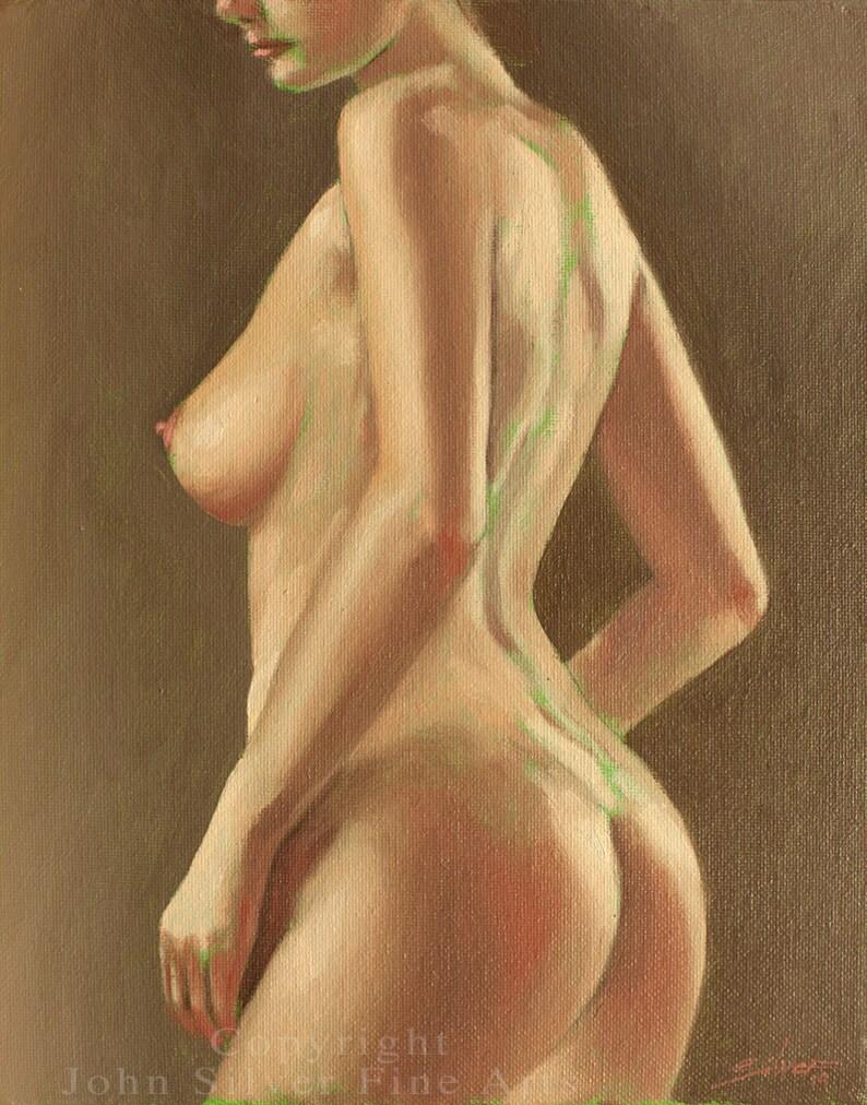 Mature Erotic Nude Female Art  Sensual Nude Portrait  image 0