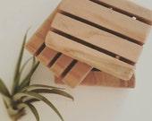 Wood Soap deck, handmade