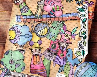 Steampunkish Doodles
