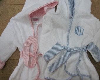 Monogrammed Infant Robe