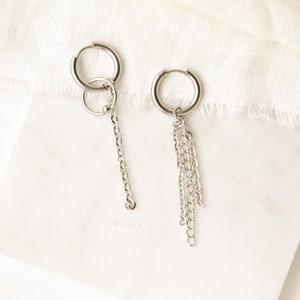 BTS Jeon JungkookJK Non-Matching Earrings