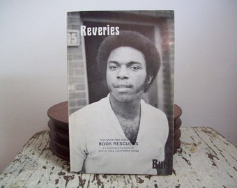 1970s poetry African American poetry book Reveries by Burl Webster NRU Publication 1975 autographed Illinois underground book publisher