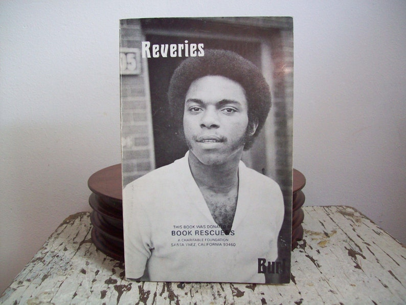 1970s poetry African American poetry book Reveries by Burl image 0