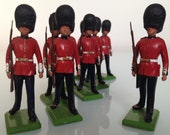 VIntage toy soldier, lead soldier, Scotts Granadier Guards, Made by Britains Ltd, inthe 39 60s 39 70s