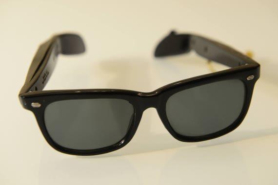 Spectra Radio Sunglasses, sunglasses with built-in radio, transistor mini  radio circuit, unisex, 1960s, UK