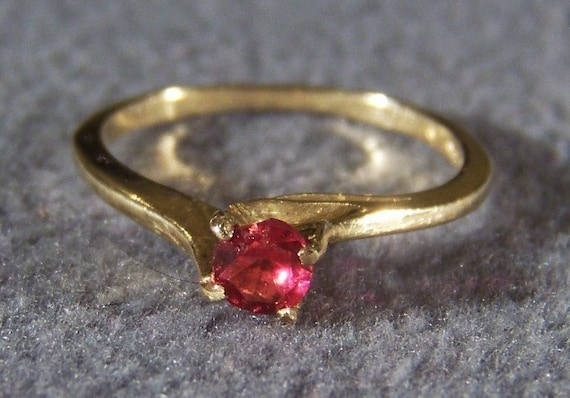 Size 9      **RL Vintage Sterling Silver 10 Round Cut Ruby Fancy Bold Wedding Band Ring