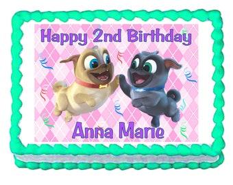 Puppy Dog Pals Birthday Cake Topper Etsy