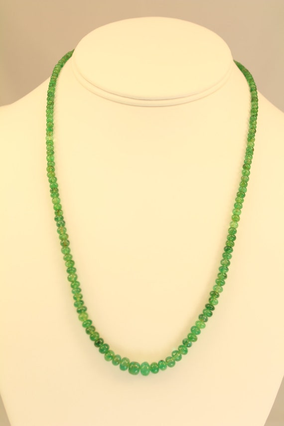 Emerald Necklace Light Green