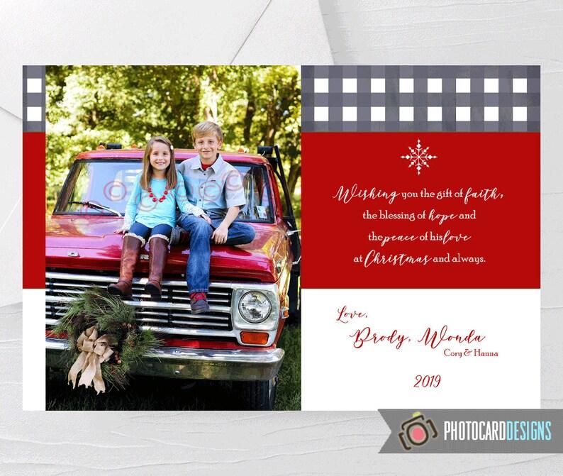 Family Christmas Card Christmas Card Merry Christmas Card image 0