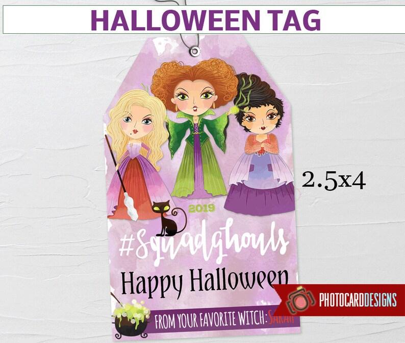 Hocus Pocus Tag Witch Tag Halloween Tag Squad Goals Hocus image 0