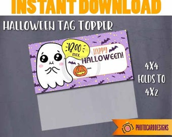 Boo Mix Treat Bag Topper, Boo Mix Printable, Halloween Tag, Halloween Printable, Boo Mix, Halloween, Digital, School, Treat Bag, DOWNLOAD
