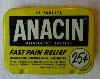Anacin tins | Etsy