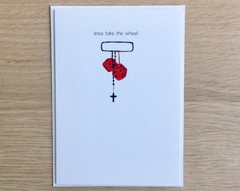 Funny Inspirational Greeting Card