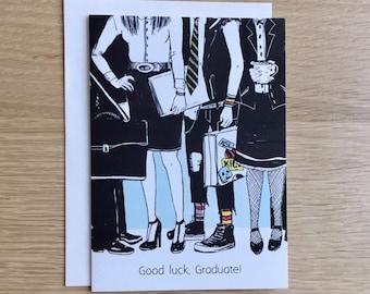 Funny Disaster Graduation Card