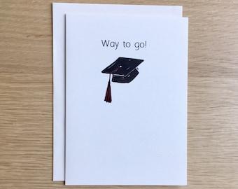 Funny Super Senior Graduation Card