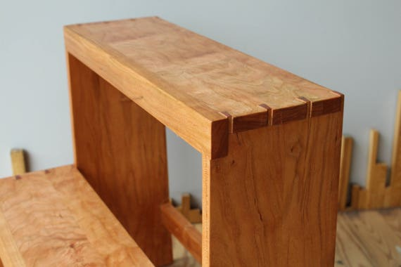 Excellent Shaker Inspired Step Stool With Hand Cut Dovetails Ibusinesslaw Wood Chair Design Ideas Ibusinesslaworg