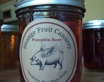 Pumpkin Beer Jelly, 8 oz.