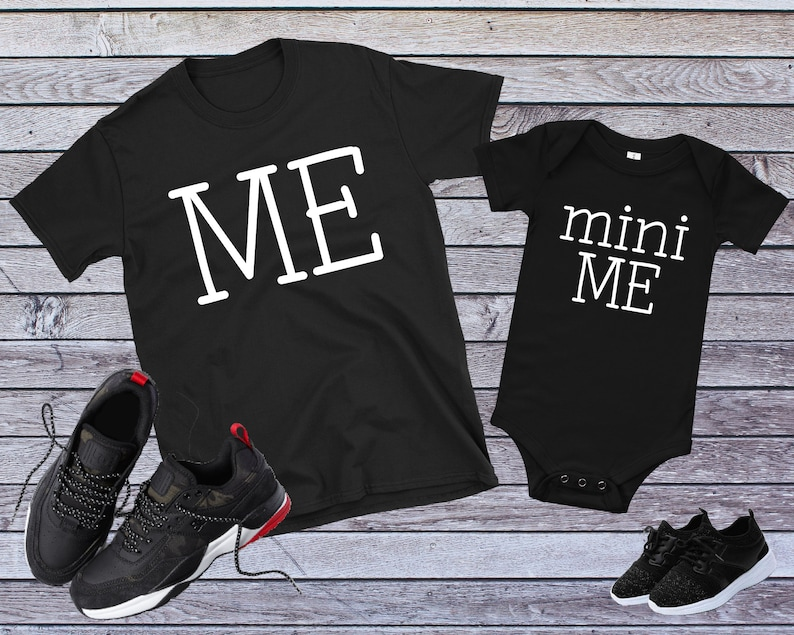 d2e0c31d Dad And Baby Matching Shirts Me Mini Me Shirts Father Son | Etsy