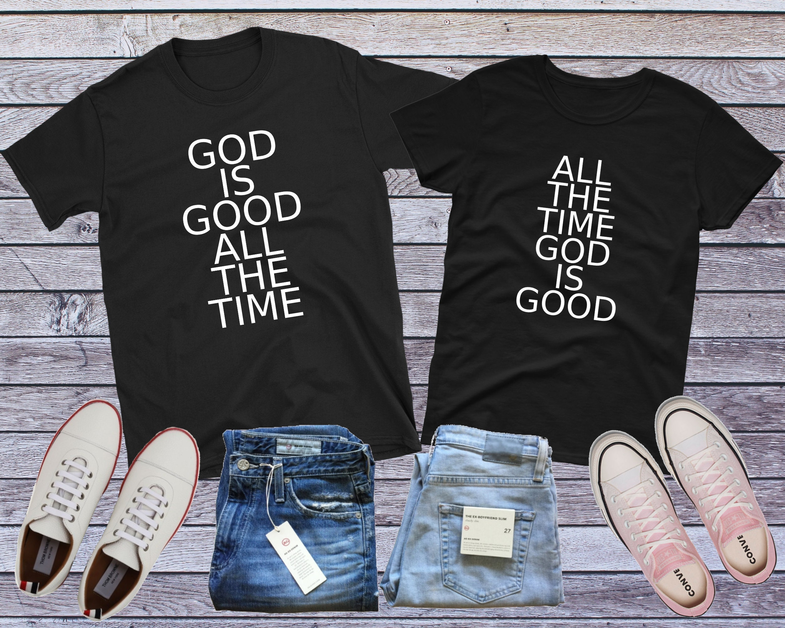 a508f33796 Christian Couple Shirts Matching Couple Shirts Christian | Etsy
