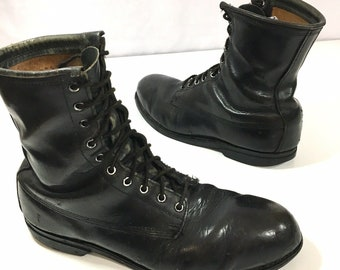 9b2a3ebdc58 Military boots 11   Etsy