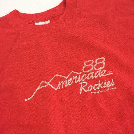 Michigan Large 5050 Vintage 80/'s Campground T Shirt Rockeys Albion